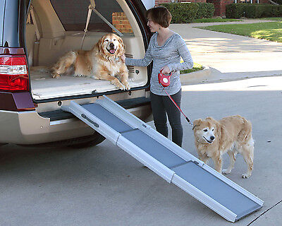 NEW!! Deluxe TriScope Ramp 62420 Compact Pet Ramp SUV Free Shipping