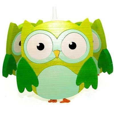 Kama Design Ceiling light Owl Wood in 4 Colors