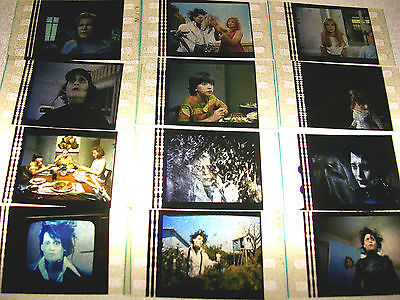 EDWARD SCISSORHANDS Lot of 100 Film Cells - Compliments movie dvd poster