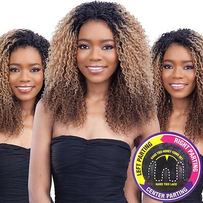 Equal Synthetic 3 Way Part Logan Lace Front Wig
