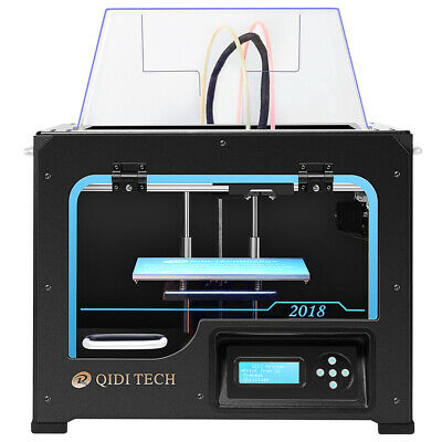 2016 The Best QIDI TECH FDM 3D Printer with high quality upgraded motherboard