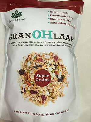 NEW Brookfarm Granohlaah with super grains, tart cherries & crunchy nuts 1.5kg
