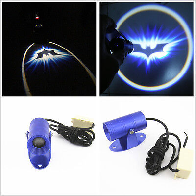 Motorcycle LED Laser Projector Light Bat Logo Ghost Shadow Projection For Yamaha