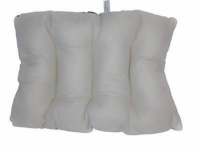 Brand New Rectangle Cream Dog Cat Pet Bed Floor Cushion Pillow Fleece