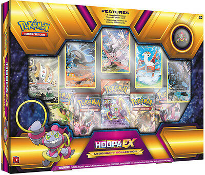 POKEMON Hoopa EX Legendary Collection Box Gift Set SEALED FAST SHIPPING!!