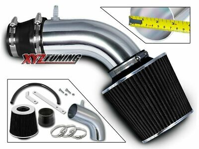 BLACK Short Ram Air Intake+Filter For 11-13 Accent/Veloster/Elantra 1.6L/1.8L L4