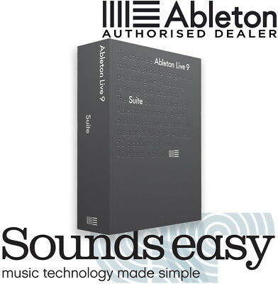 Ableton Live 9 SUITE FULL VERSION Audio Production & Performance DAW Software