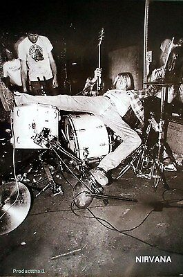 NIRVANA THE POSTER 24x36 INCH MUSIC ROCK CONCERT NEW 1 SIDE SHEET WALL PM49