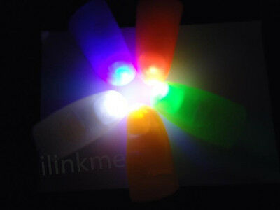 2PCS Party Light Thumbs Fingers Trick Appearing Light Close Up IL