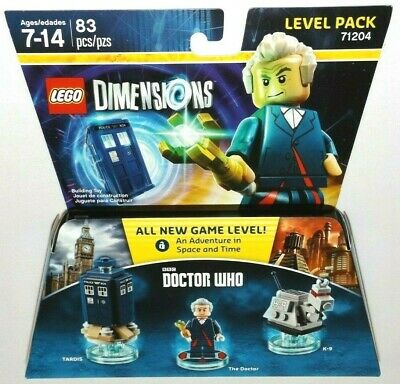 LEGO Dimensions DOCTOR WHO Level Pack 71204 TARDIS K-9 the Doctor laser BBC