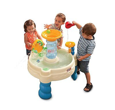 NEW Fun Spiralin' Seas Waterpark Play Table With Ferris Wheel By Little Tikes