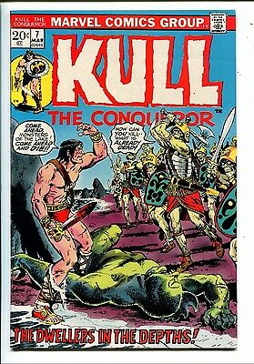 KULL The Conqueror no. 7 Marvel Comic   VG  111215DBC