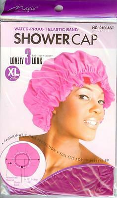 MAGIC Shower Cap  Pink  X - Large Size