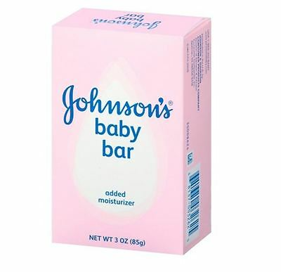 JOHNSON'S Baby Bar 3 oz (Pack of 4)