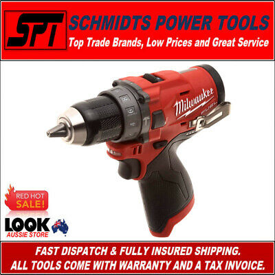 Milwaukee M12Cpd-0 M12 12V Fuel Brushless Hammer Drill Driver 12 Volt Bare Tool