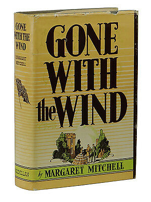Gone with the Wind ~ MARGARET MITCHELL ~ First Edition ~ 1st Issue DJ ~ May 1936