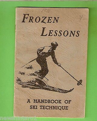 #d225. 1938 Australian Ski Technique Book, Kosciusko Alpine Club