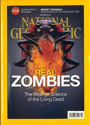 National Geographic Revista Noviembre 2014 - Real Zombis / Marco Everest