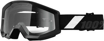 100 100 Adult MX ATV BMX Goggles Strata Goliath With Clear Lens 50400-166-02