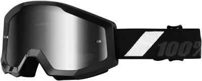 100 100 Adult MX ATV BMX Goggles Strata Goliath With Mirror Lens 50410-166-02