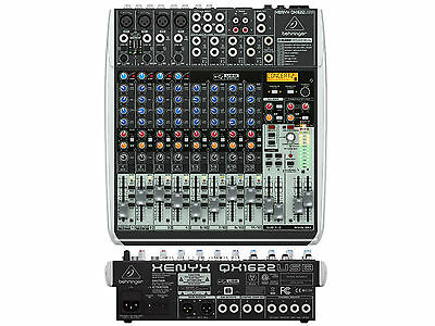 Behringer Qx1622Usb Mixer 16 Ingressi Con Usb - Effetti X Voce E Wireless