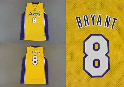 Los Angeles Lakers Kobe Bryant 8 NBA Champion Jersey SIZE M-L