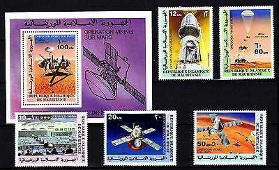 "Mauritania - 1977 ""Viking Mars Project"" Perforated (MNH) - Lot 1"