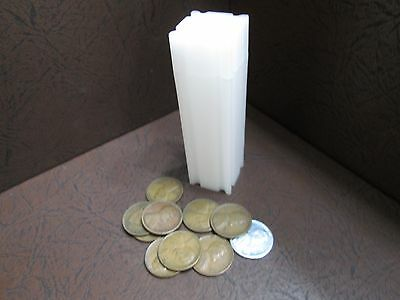 One CoinSafe Brand Square Coin Storage Tubes for Pennies