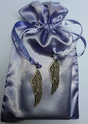 Feather Charm Tarot Bag Lavender