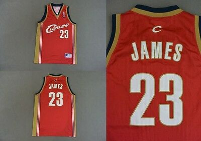 Nba Cleveland Cavaliers Lebron James 23 Champion Basketball Jersey Vest Top M