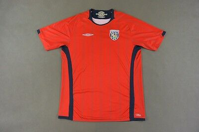 2009-10 Umbro West Brom Bromwich Albion F.C. Away Shirt SIZE L