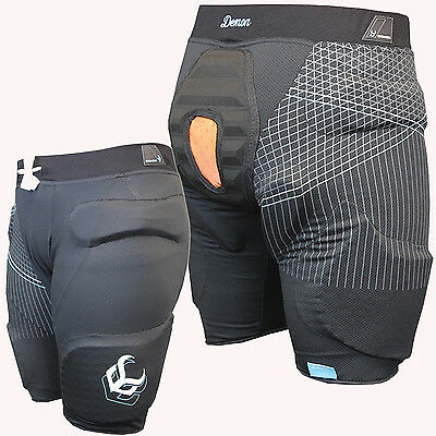 DEMON S16 Womens Flex Force X D30 Padded Snowboard Shorts Hip, Coccyx Protection