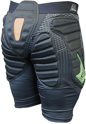 DEMON S16 Flex Force X D30 Padded Snowboard Shorts Hip, Coccyx Protection