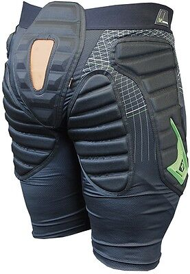 DEMON S17 Flex Force X D30 Padded Snowboard Shorts Hip, Coccyx Protection
