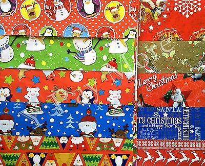 15 Sheets Assorted Cute Traditional Design Xmas Chrismas Gift wrapping