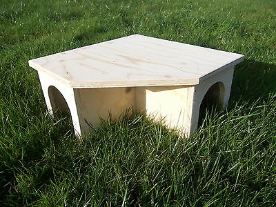 Guinea Pig Tortoise Rabbit House Shelter Hide Top Quality Fully Assembled