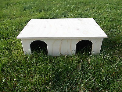 Guinea Pig/ Small Rabbit House/ Shelter/ Double Storey/ 20'' x 13'' x 6''