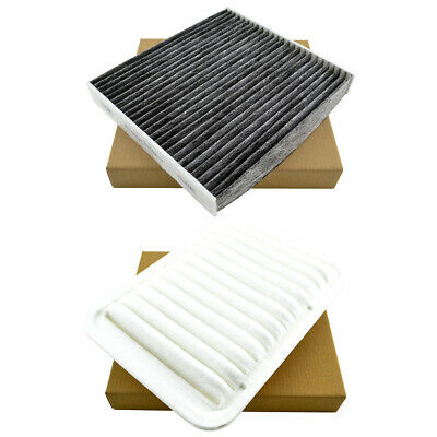 Engine & Cabin A/C Air Filter for Toyota Corolla 09-17 Yaris 07-17 Matrix 09-14