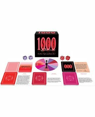 1000 Sex Games | Adult Board Game for Couples by Kheper Games