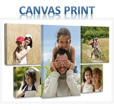 Your Personalized Photo  On Canvas Print Picture Box Framed A4 A3 A2 A5