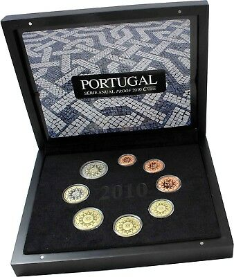 Portugal 3,88 Euro 2010 PP KMS 1 Cent bis 2 Euro im Etui
