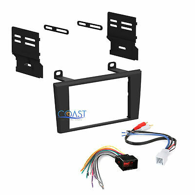 Double Din Car Radio Stereo Dash Kit Harness for 2000-2003 Ford Lincoln Mercury