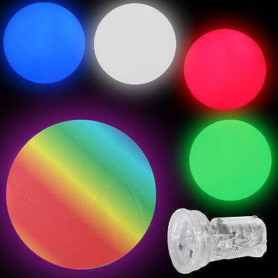 100mm G-Light LED Juggling Balls ( Light Up Glow Balls ) - Price is per ball