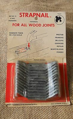 Vintage Metal Plates For Joining Wood Joints