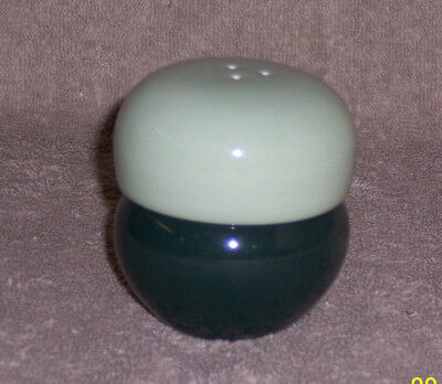 Iroquois Russel Wright Dark Green Light Green Salt Pepper Shaker