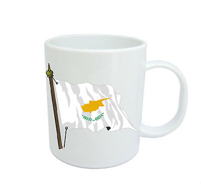 Cypriot  Flag  Coffee Mug Free Personalisation  Cyprus