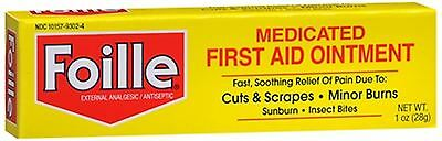 Foille Medicated First Aid Ointment 1 oz (Pack of 2)