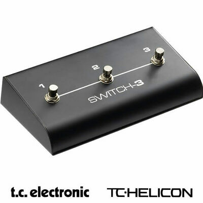 TC Electronic Switch 3 3-button Footswitch for TC Electronic and Helicon gear