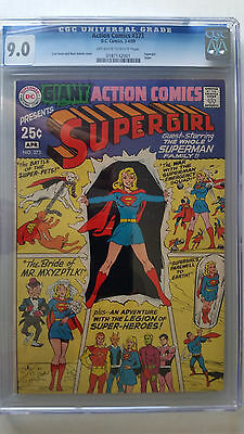 Action Comics #373 CGC 9.0 VF/NM    80 Page Special Supergirl