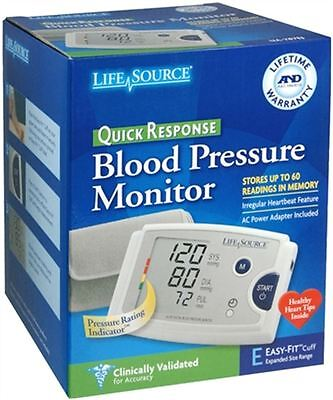 LifeSource Quick Response Blood Pressure Monitor UA-787EJ 1 Each (Pack of 9)